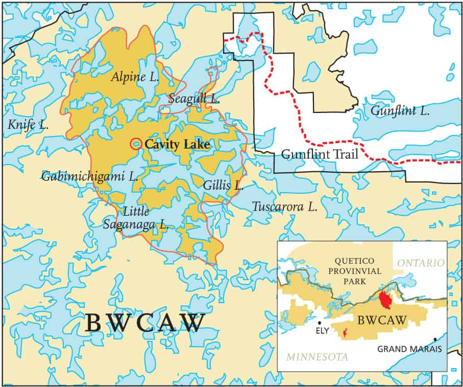 Grand Lake Fire Map.Wildfires Strike The Bwcaw And Quetico Provincial Parks Quetico