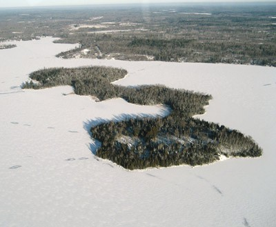 Wolf Island. Photo courtesy of Superior National Forest.