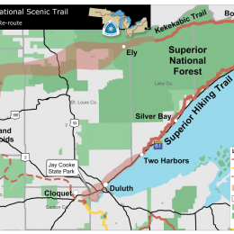 North Country National Scenic Trail to Cross the BWCAW