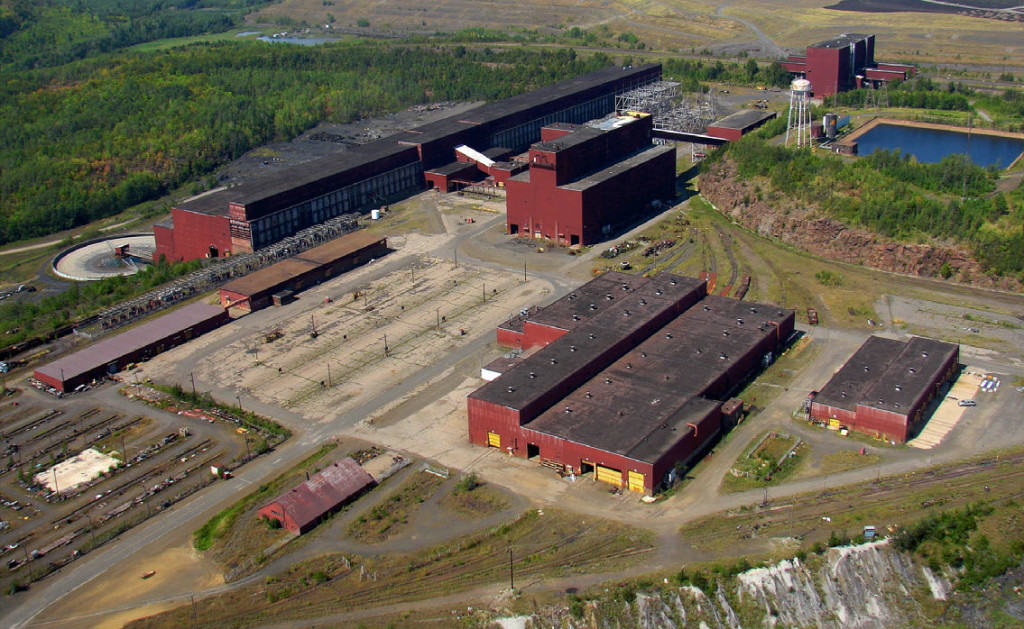 PolyMet's potential processing plant (Photo courtesy MN Department of Natural Resources)