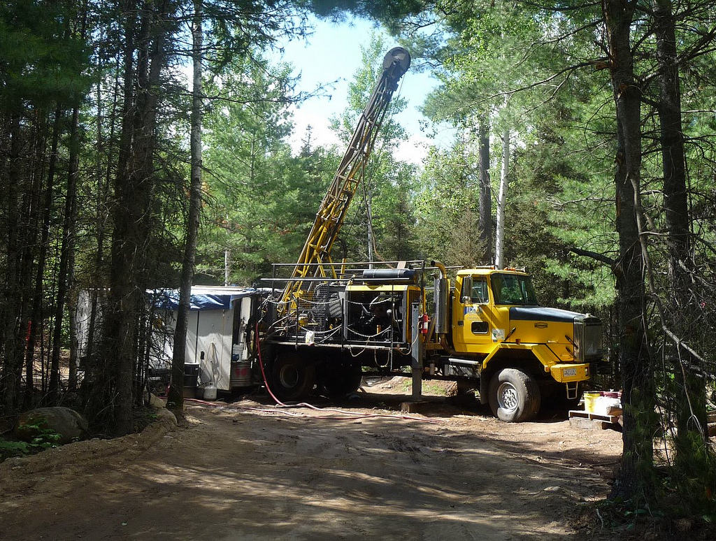 Mineral exploration on the Superior National Forest (Photo by Greg Seitz)