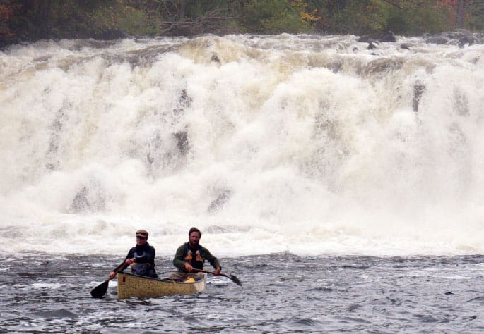 Paddling down the Mattawa River in Ontario. Photo courtesy Dave and Amy Freeman.