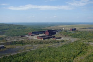 PolyMet's proposed processing plant (Photo courtesy PolyMet Mining Inc.)