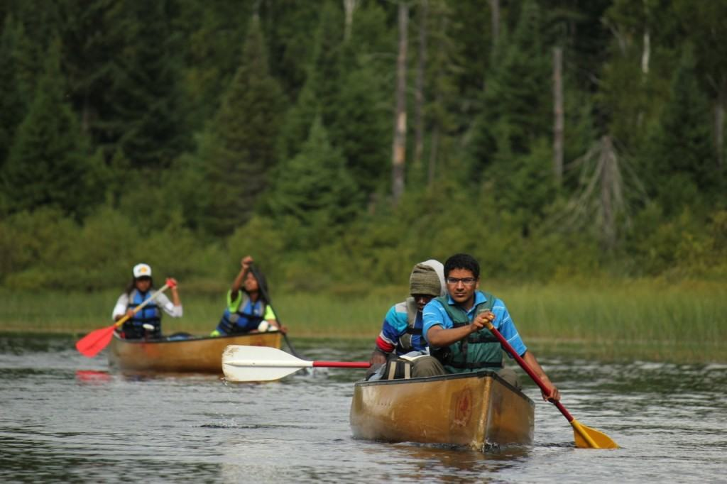Quetico canoeing (Courtesy Quetico Foundation)