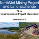 Major Mining Milestone: Final Environmental Review Released for PolyMet Proposal