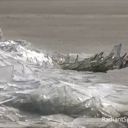 WATCH: Ice, Wind, and Water on Lake Superior