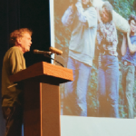 Will Steger speaks on climate change in the north woods of MN