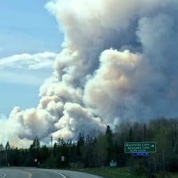 Prescribed Fire Runs Wild Near Burntside Lake