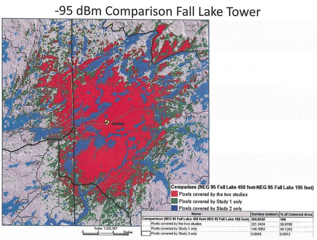 cell tower coverage bwca