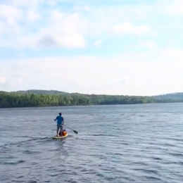 Video: Stand-Up Paddleboarding Through Canoe Country