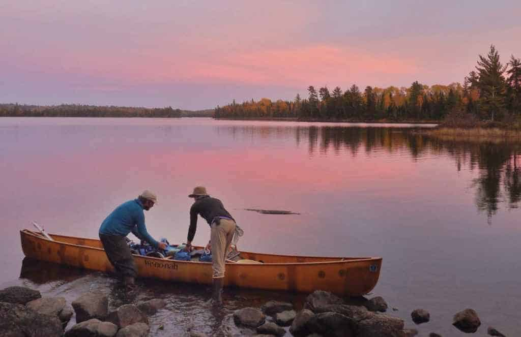 Dave and Amy Freeman began and ended their year in the wilderness on the autumnal equinox, eventually spending 366 days in the Boundary Waters. All photos courtesy Dave and Amy Freeman.