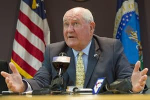Agriculture Secretary Sonny Perdue (Photo via U.S. Department of Agriculture)
