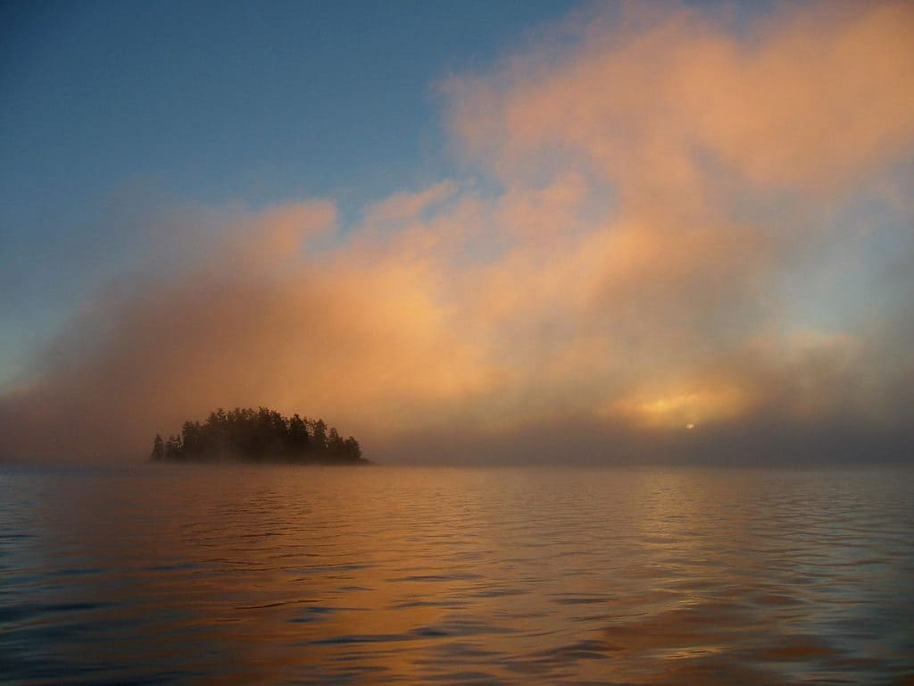 Quetico Provincial Park. (Photo by Stan Oleson via Wikimedia)