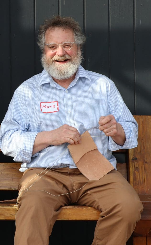 Mark Hansen is one of the founding fathers of the North House Folk School. Photo courtesy the North House Folk School.