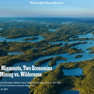 Ely's mining debate featured in the New York Times Magazine