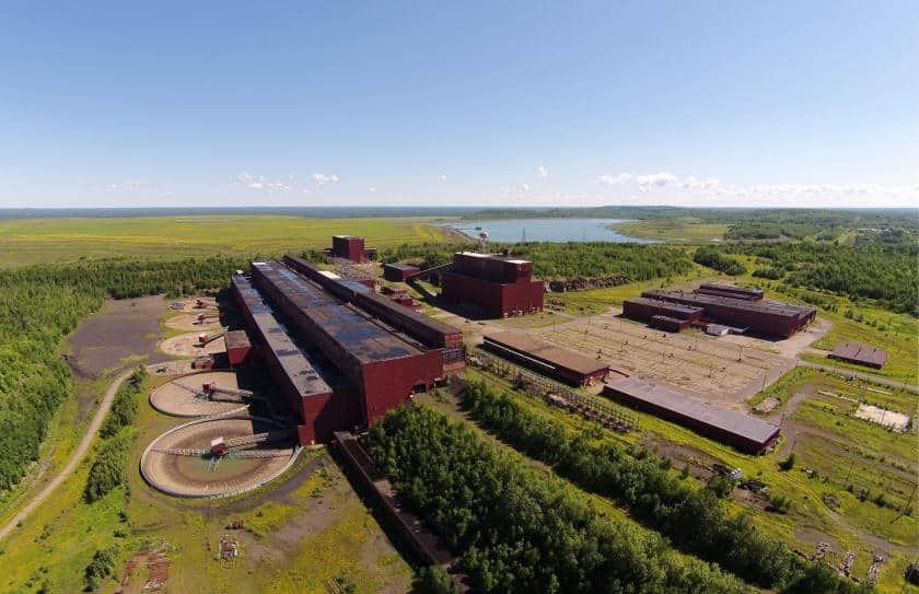 PolyMet proposes to use the former LTV taconite mine processing plant. (Photo courtesy MnPCA)
