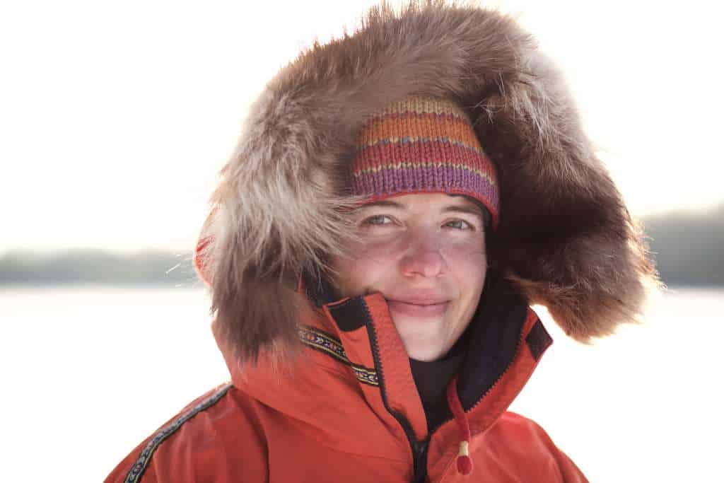 Explorer, guide and activist Amy Freeman. Photo by Nate Ptacek.