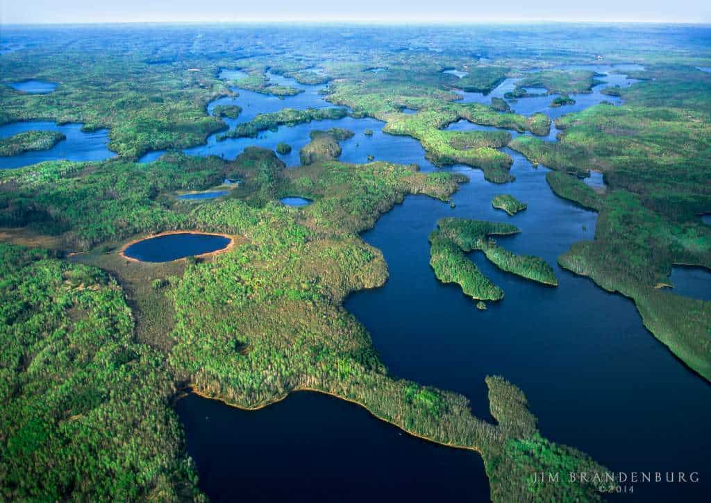 The Campaign to Save the Boundary Waters is concerned about the impacts of proposed proposed sulfide-ore copper mining within the Boundary Waters watershed. Photo by Jim Brandenburg.