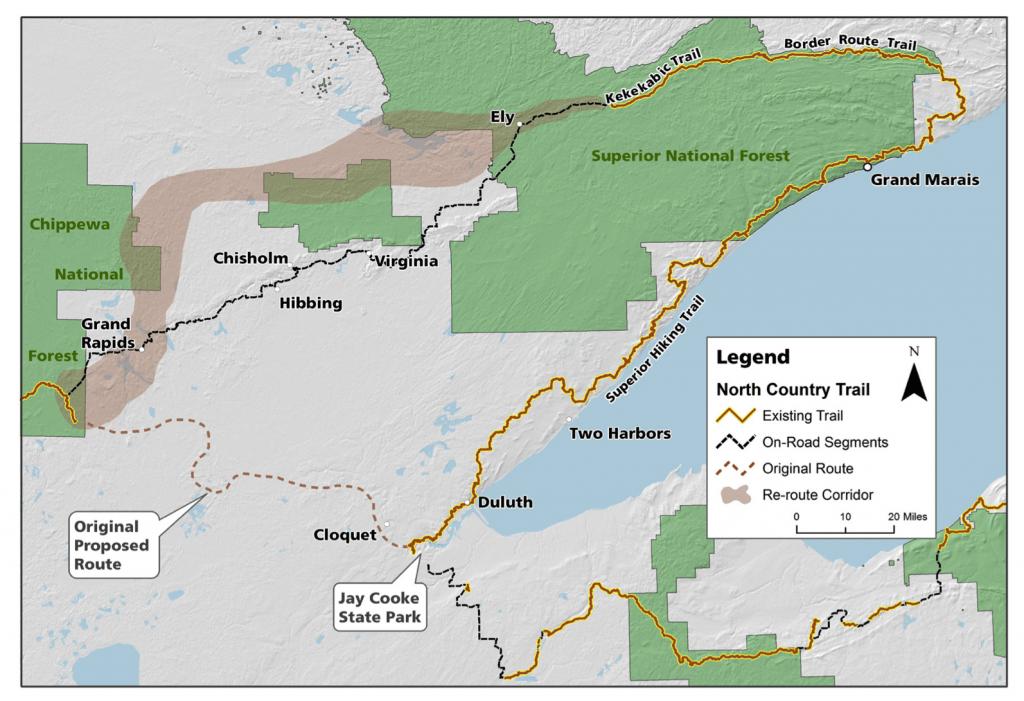 U.S. Senate pes bill to make northeast Minnesota hiking routes ... on