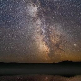 Measuring dark night skies in Quetico-Superior a first step in light pollution protection