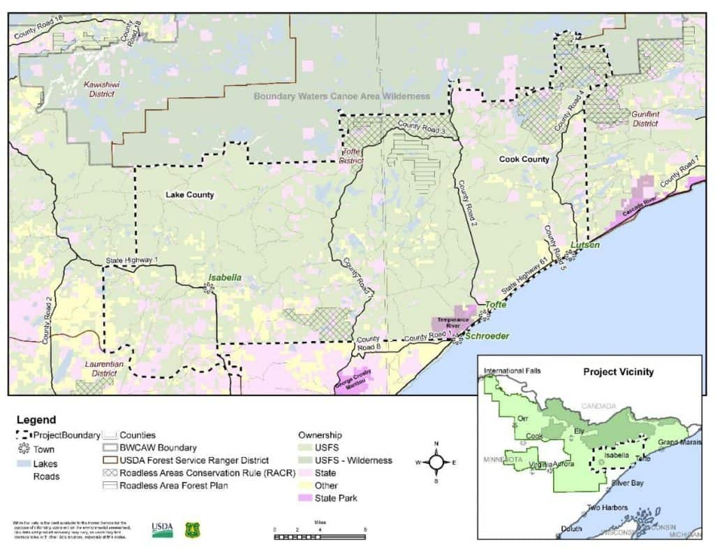 Superior National Forest proposes new planning process for ...