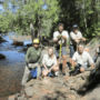 International ranger crew partners to improve flood-prone portage on Granite River